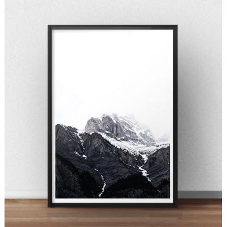 """Plakat na ścianę """"Śnieżne góry"""""""