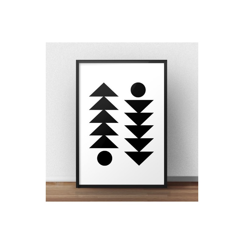 Poster Scandinavian symmetry