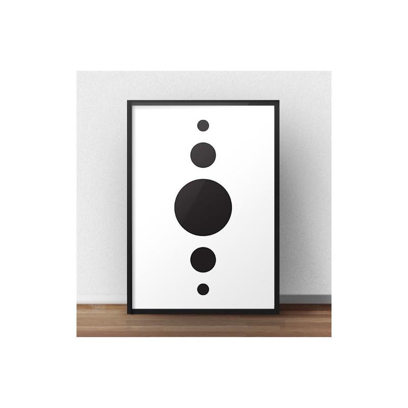 Geometric poster Pictogram