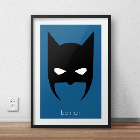 Plakat z postacią Batmana