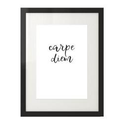 """Plakat na ścianę z motywacyjną sentencją """"Carpe diem"""""""