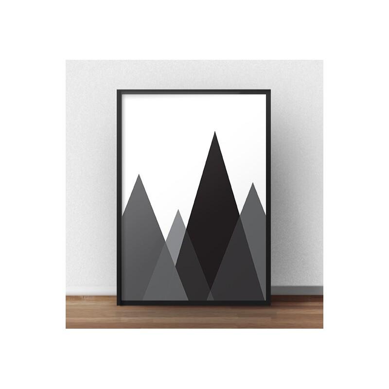 Plakat Czarne góry
