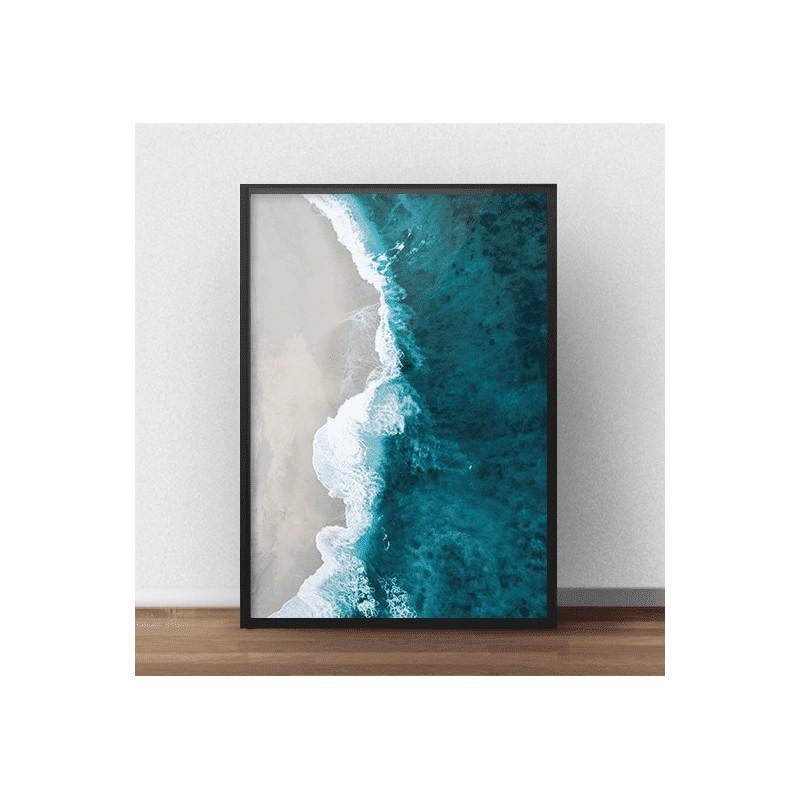 """Plakat fotograficzny na Twoją ścianę """"Plaża i morze"""""""