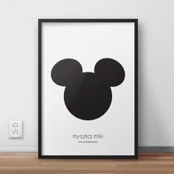 """Darmowy plakat """"Myszka Miki"""""""