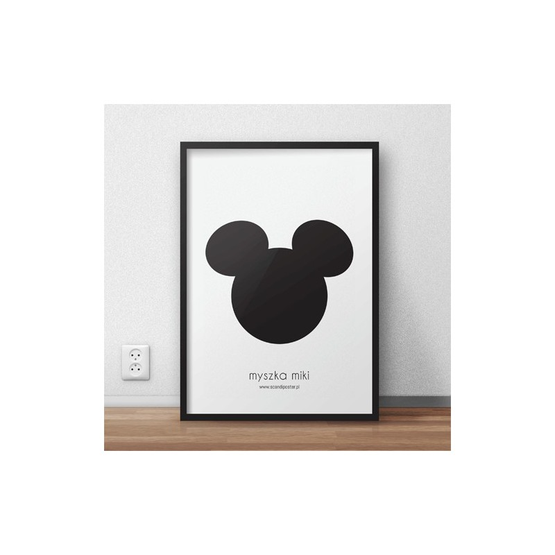 Free poster Mickey Mouse