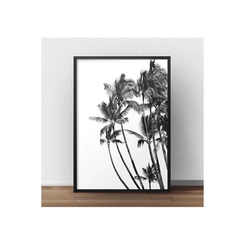 Minimalist poster Palms