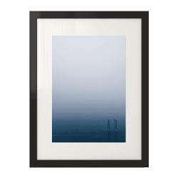 Fotograficzny plakat przedstawiający pomost jeziora