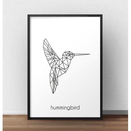 "Plakat z kolibrem ""Hummingbird"""