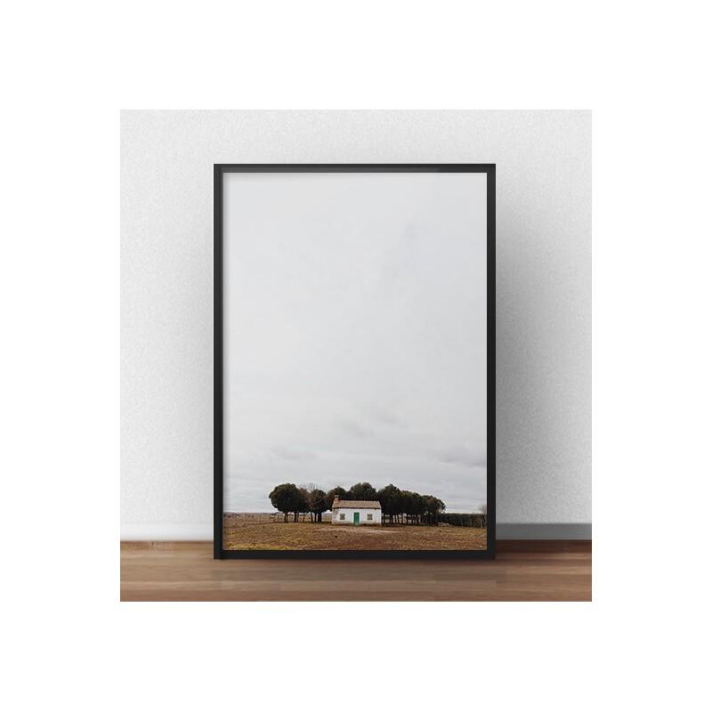 """Plakat fotograficzny """"Samotny domek"""" do oprawienia w ramkę i powieszenia na ścianie"""