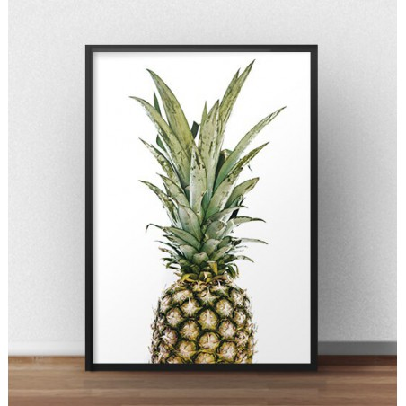 """Plakat na ścianę """"Soczysty ananas"""""""