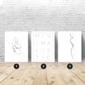 Set of 3 minimalist posters