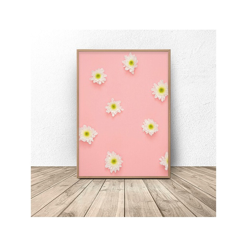 Pastel wall poster Astery