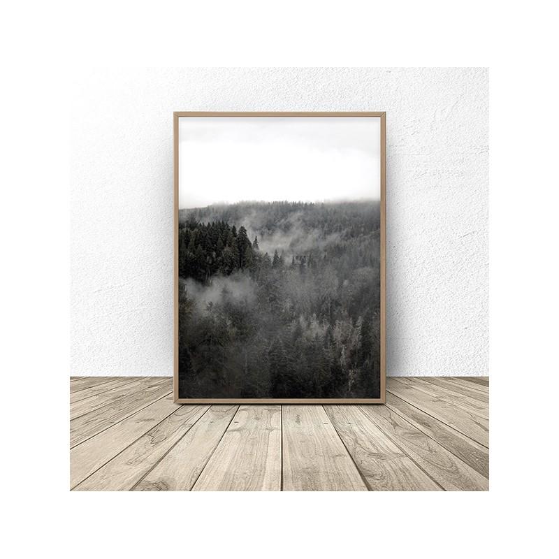Scandinavian poster Dark Forest