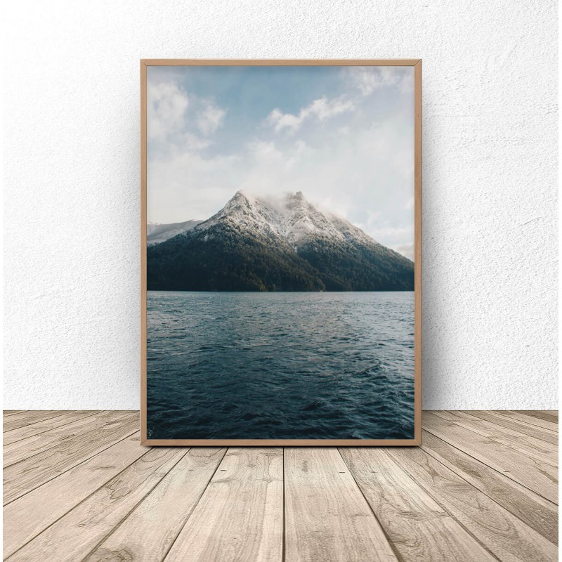 Scandinavian poster Mountain