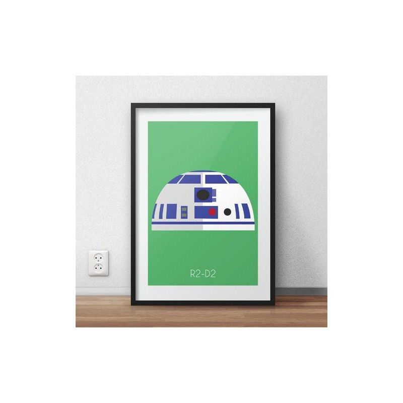 Poster with droid form R2-D2