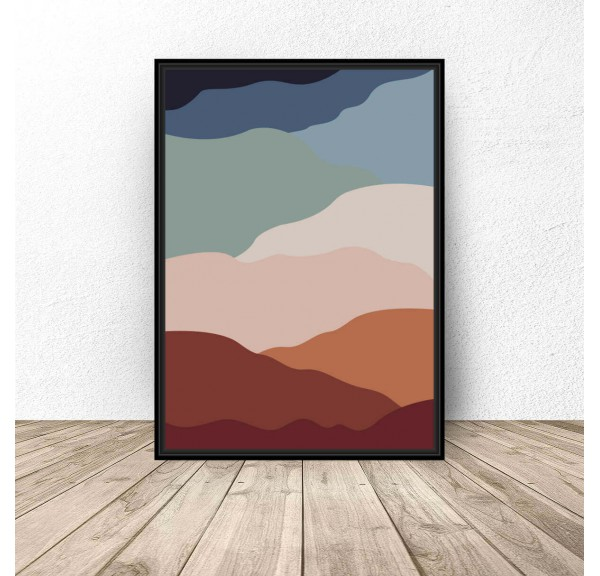 Abstract poster Hot sands