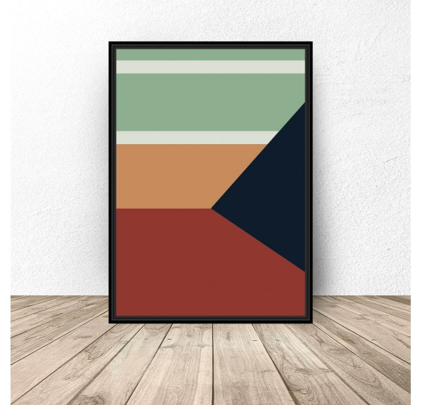Abstract poster Geometry