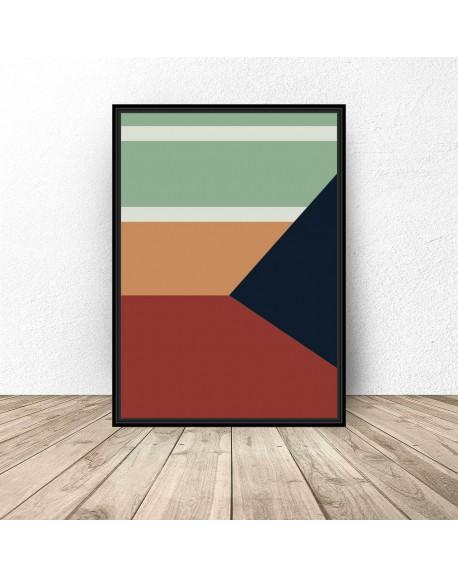 """Plakat abstrakcyjny """"Geometria"""""""