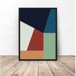 Plakat abstrakcyjny...