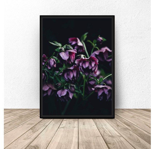 Glamour poster Purple Flowers