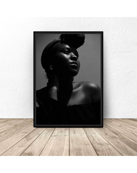 """Plakat """"Afroamerykanka"""""""