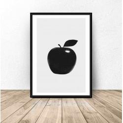 "Plakat do kuchni i jadalni ""Jabłko"""