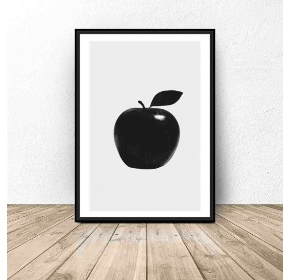 Poster for kitchen and dining room Apple