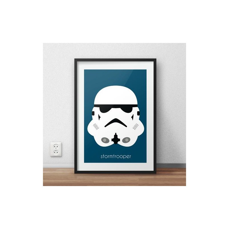 Poster with Stormtrooper