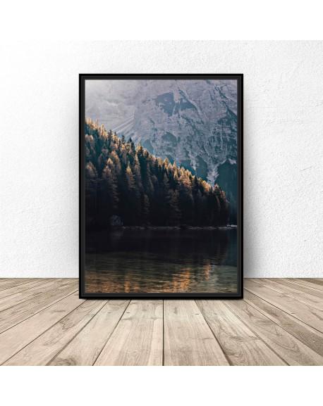 """Plakat na ścianę """"Las w górach"""""""