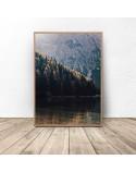 Plakat na ścianę Las w górach 2