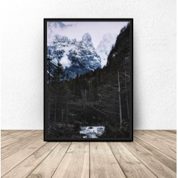 """Plakat na ścianę """"Górski krajobraz"""""""