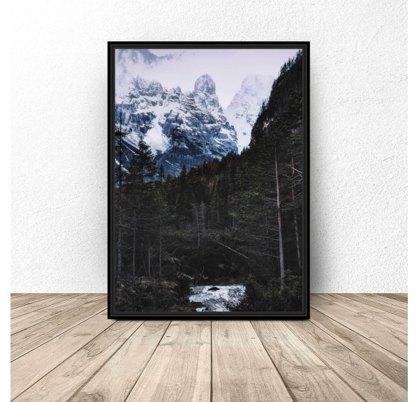 Poster for the wall Mountain Landscape