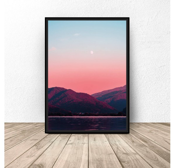 Poster for the wall Mountain Twilight