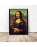 Poster Mona Lisa with mustache 2