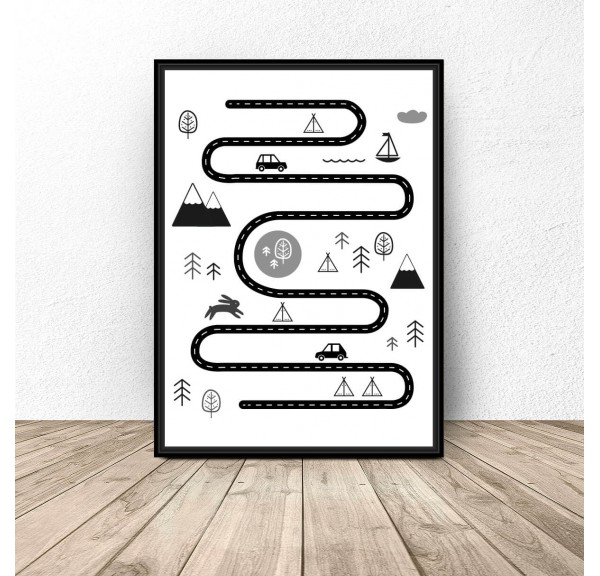 Poster for children Traveler