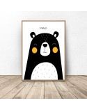 Poster for children Teddy Bear