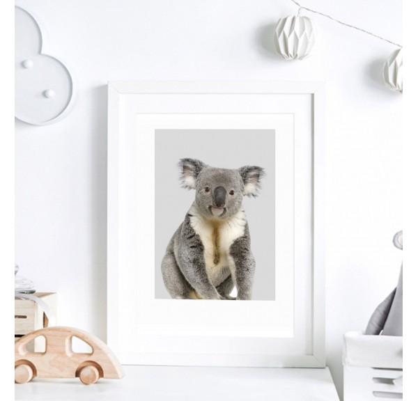 Poster for baby room - Koala bear