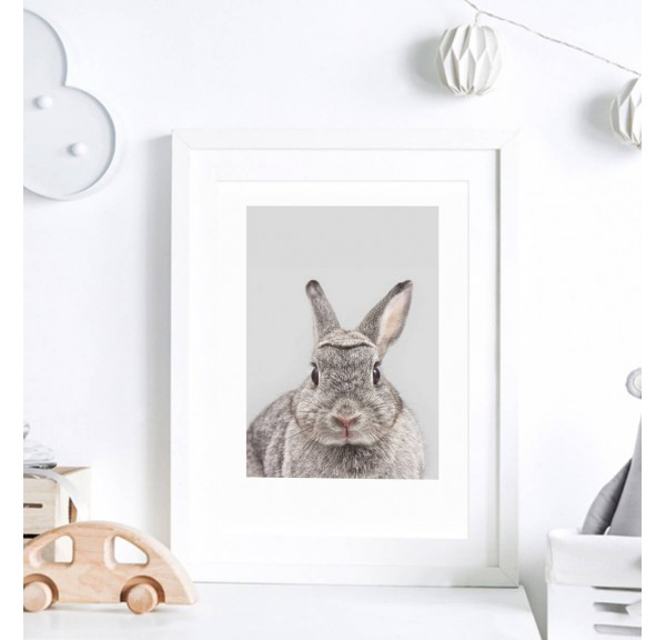 Poster for the child's room - Bunny