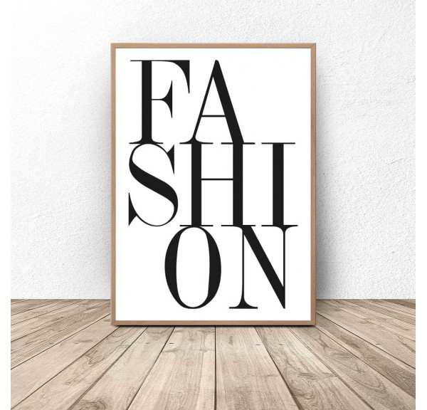 Plakat dekoracyjny Fashion