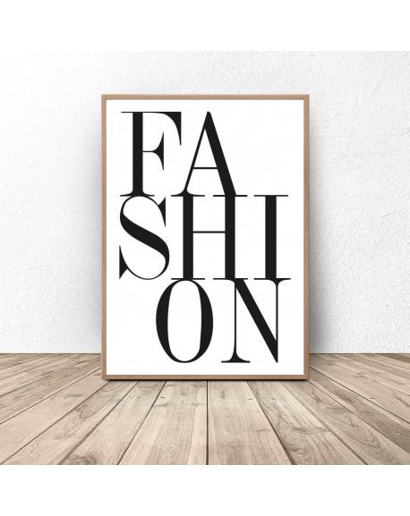 """Plakat dekoracyjny """"Fashion"""""""
