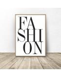 Zestaw dwóch plakatów Fashion 2