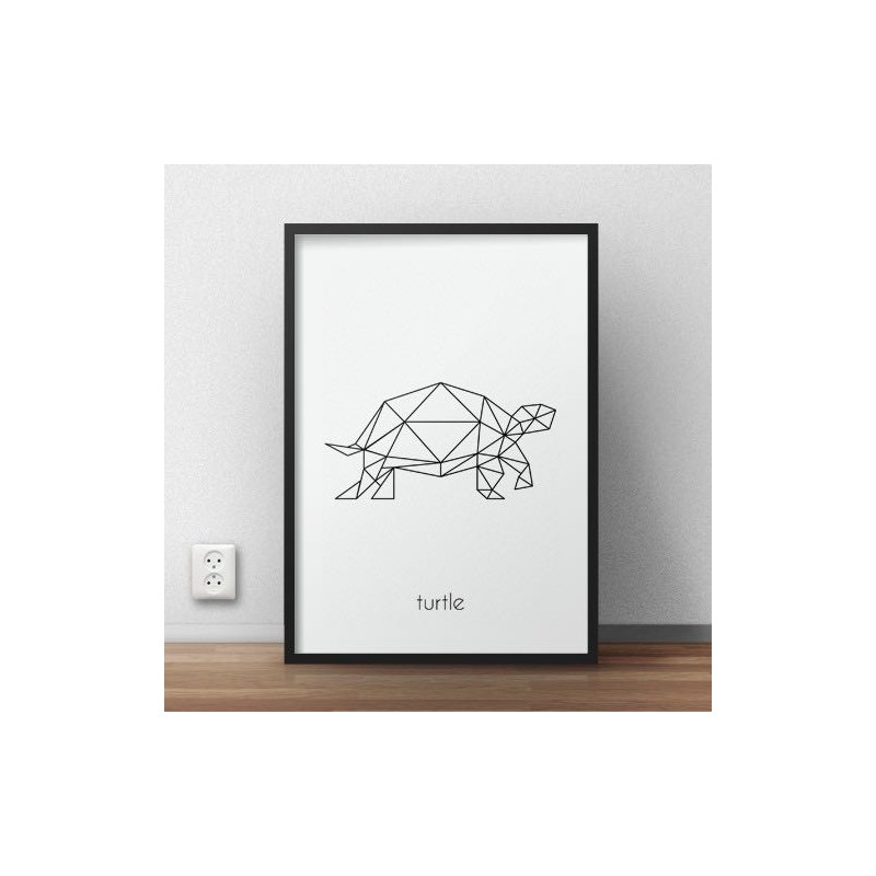 Poster with turtle Turtle