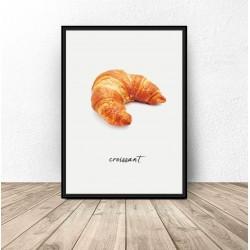 """Plakat do kuchni i jadalni """"Croissant"""""""