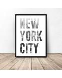Plakat z napisem NEW YORK CITY 2