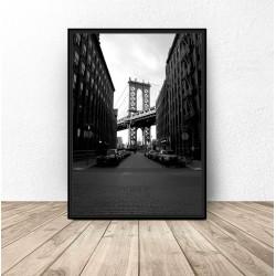 """Plakat """"Most Brookliński"""""""
