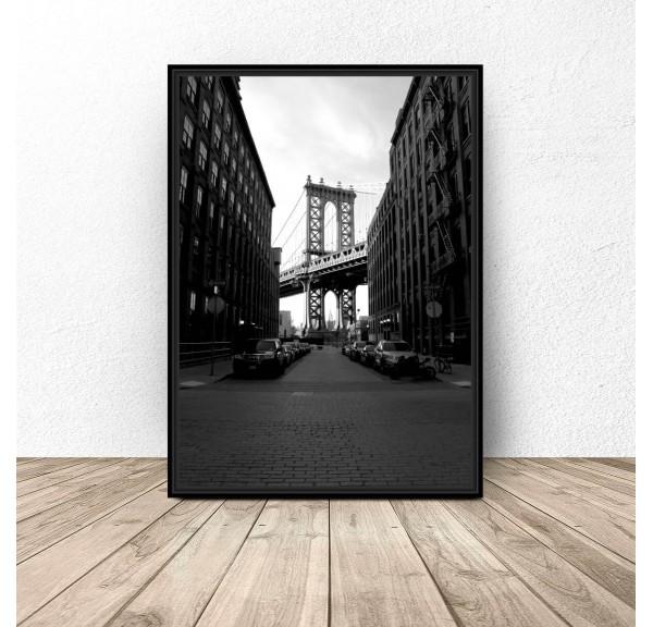Plakat Most Brookliński