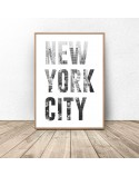 Set of two New York City posters 2