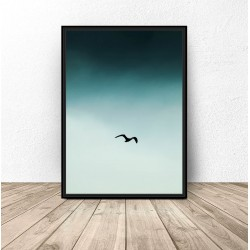 "Plakat na ścianę ""Ptak na..."