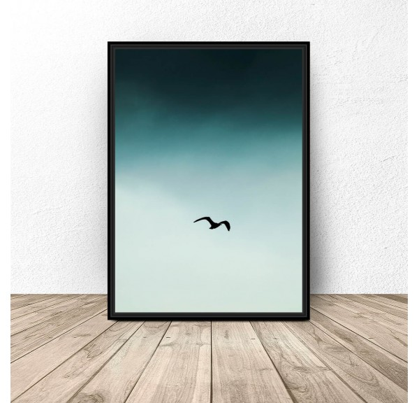 Poster for the wall Bird in the sky