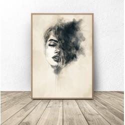 """Plakat dekoracyjny """"Kobieta..."""